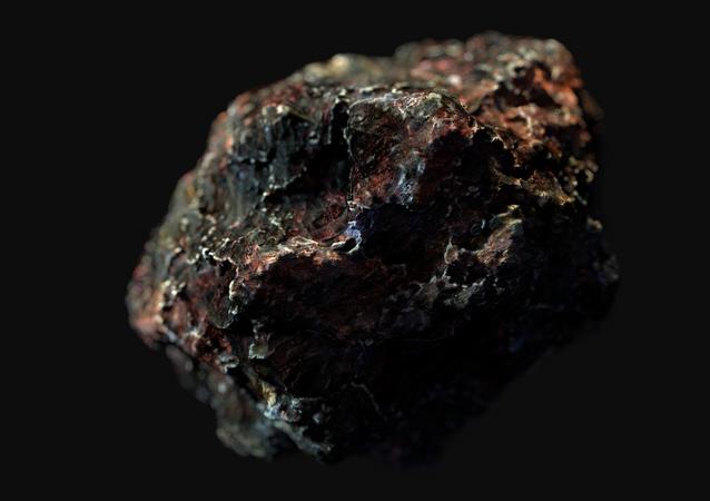 Imagem artística de asteroide