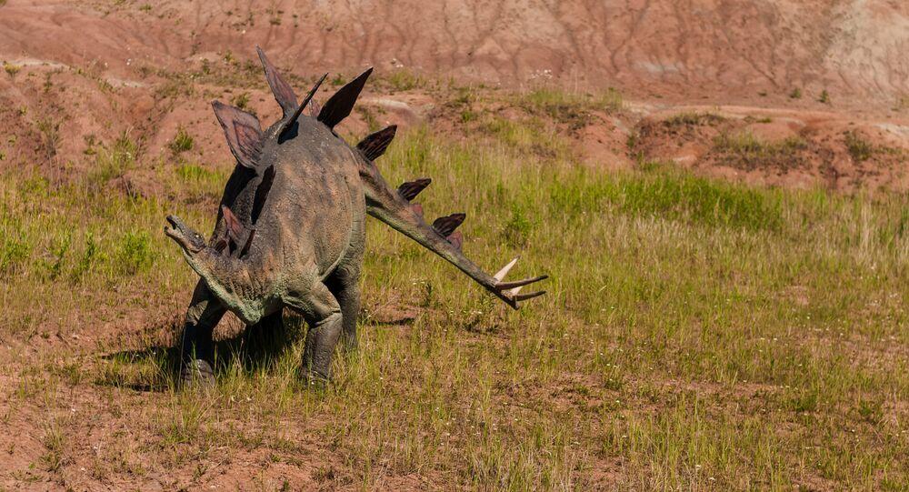 Modelo de dinossauro