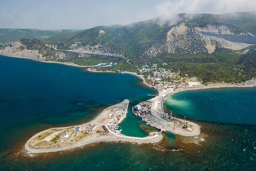 Resort aquático em Anapa, na região russa de Krasnodar