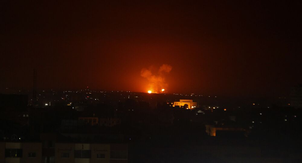 Explosão de ataques israelenses contra a Faixa de Gaza