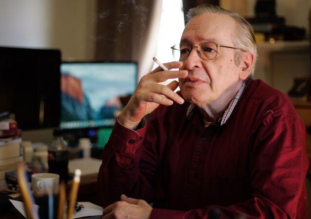 Escritor Olavo de Carvalho