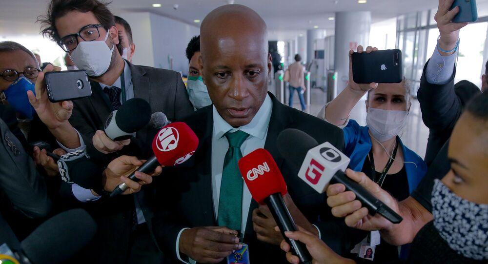 Sérgio Camargo, presidente da Fundação Palmares