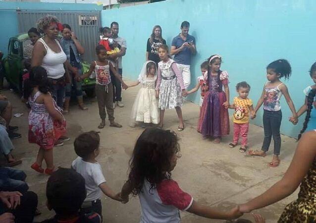 Creche do Projeto Amigos que Ajudam, em Campinas, São Paulo