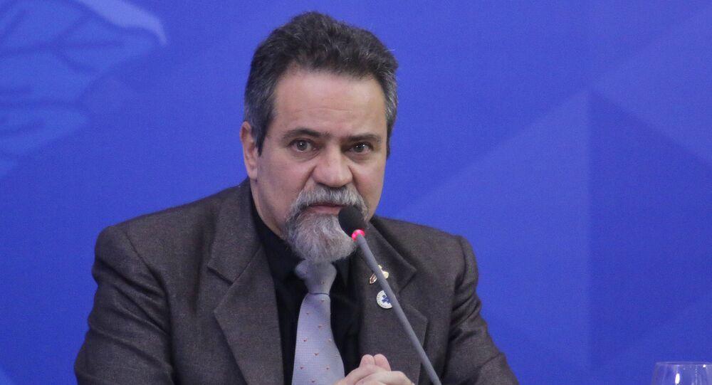 Secretário-executivo adjunto do Ministério da Saúde, Élcio Franco