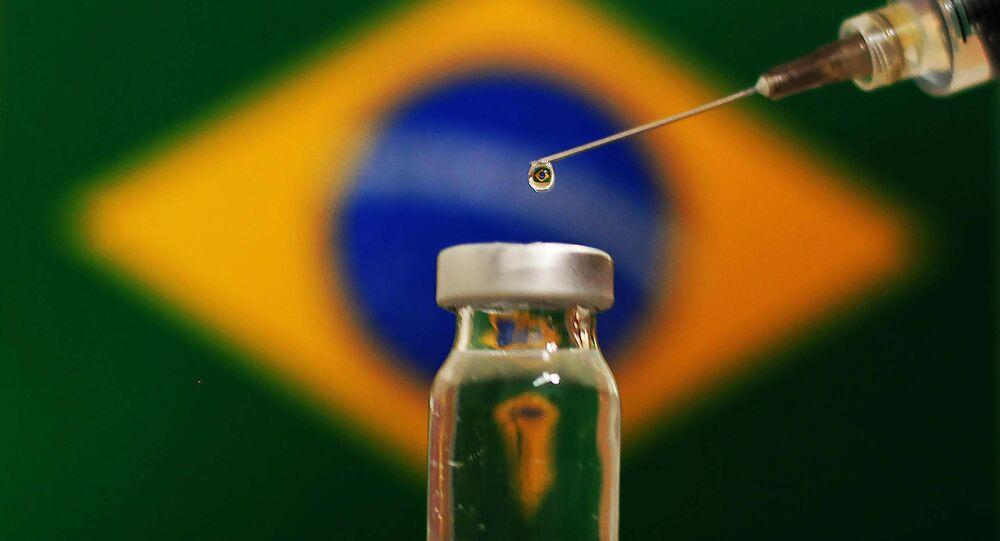 Vacina contra a COVID-19 que será testada no Brasil