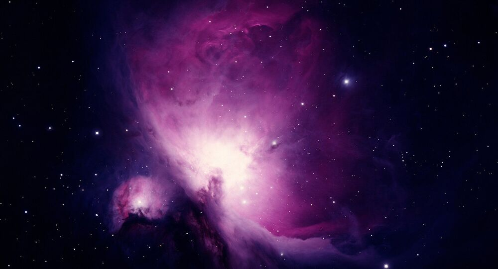 Imagem da galáxia Nebulosa de Órion