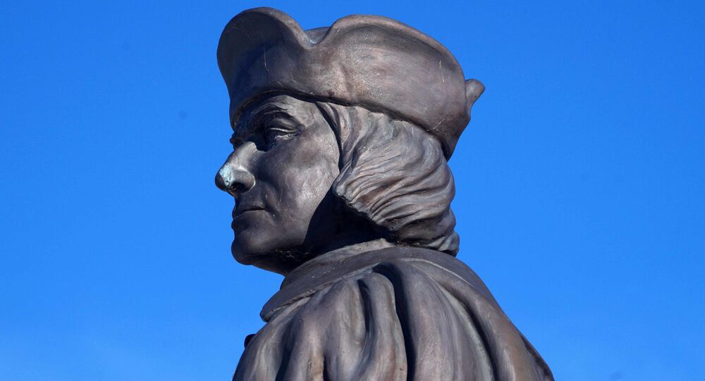 Estátua de Cristóvão Colombo