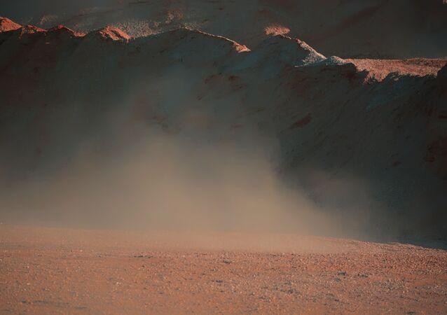 Imagem de tempestade de areia