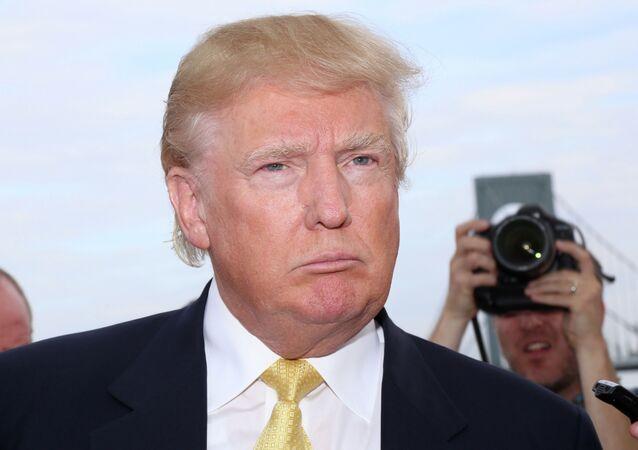 Candidato presidencial do Partido Republicano, Donald Trump (foto de arquivo)