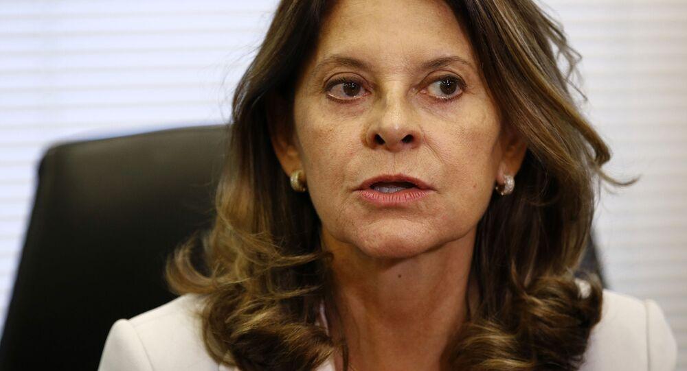 Marta Lucía Ramírez, vicepresidenta de Colombia