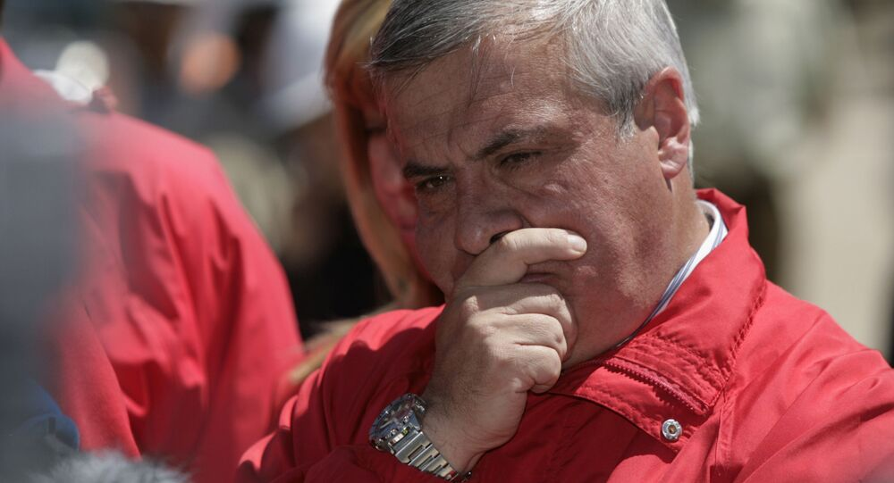 Jaime Mañalich, ex ministro de Salud de Chile, foto de archivo