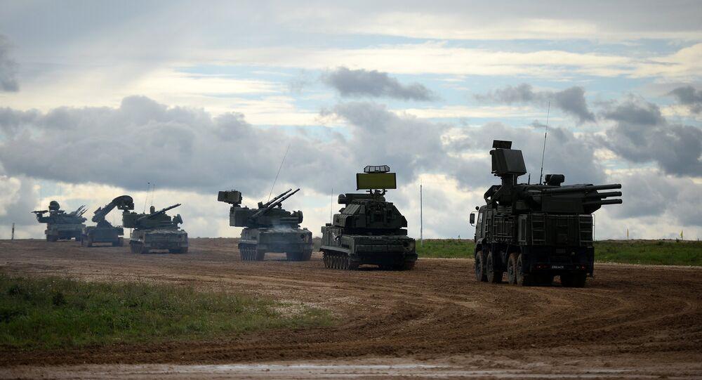 Sistemas de mísseis Tor-M2
