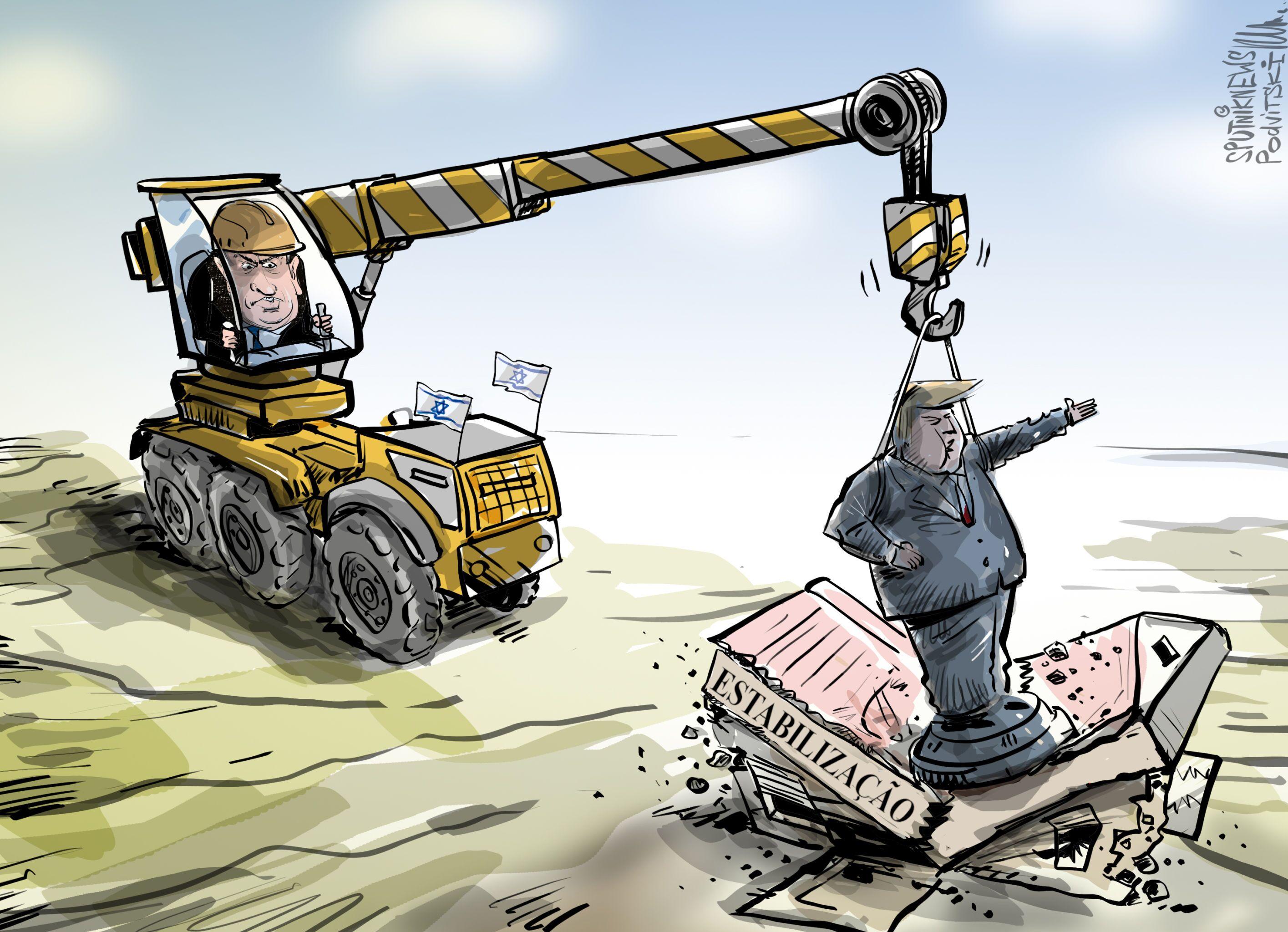 Netanyahu não perde tempo criando Colinas de Trump