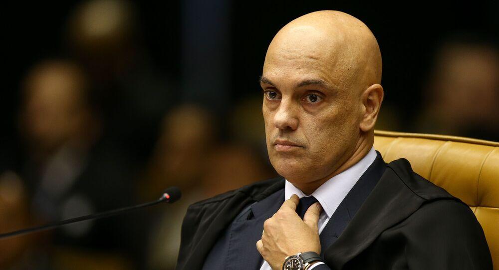Ministro do Supremo Tribunal Federal (STF) Alexandre de Moraes