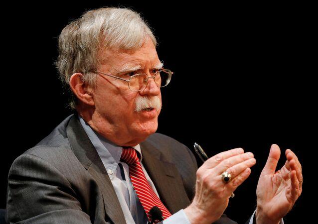 Ex-conselheiro de segurança nacional dos EUA, John Bolton (foto de arquivo)