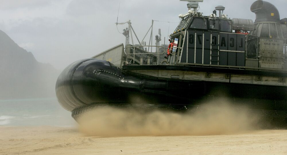 Lancha de desembarque da Marinha dos EUA