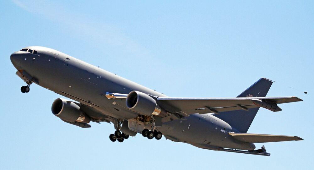 Protótipo do avião-cisterna KC-46A