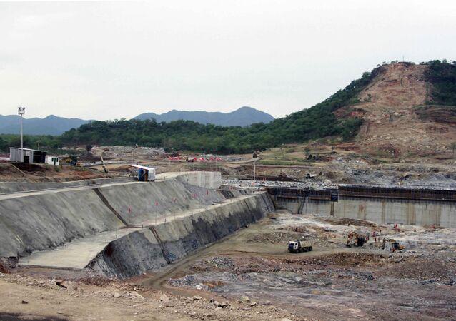 Construção de represa na Etiópia