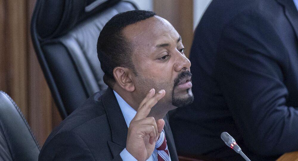 Primeiro-ministro da Etiópia Abiy Ahmed