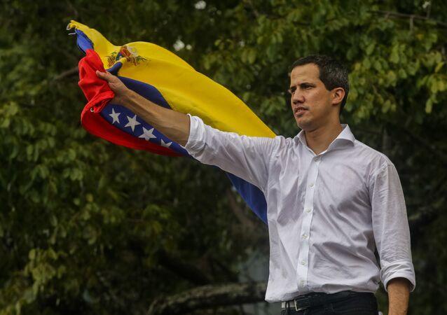 Líder oposicionista venezuelano Juan Guaidó (foto de arquivo)
