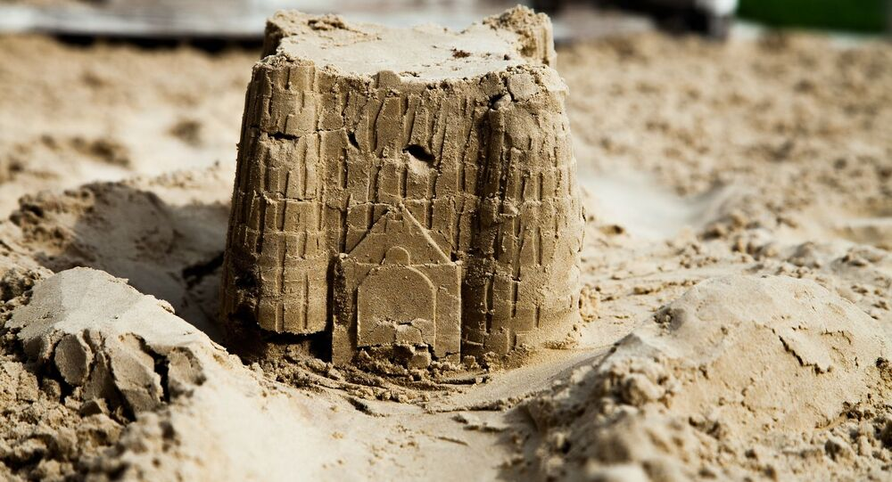 Castelo de areia (imagem referencial)