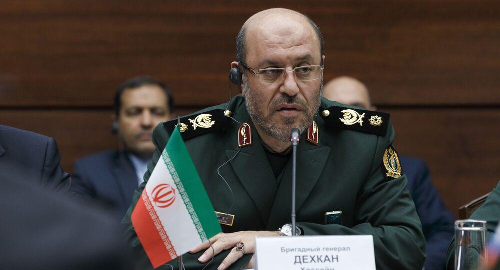 Ex-ministro da Defesa iraniano Hossein Dehghan