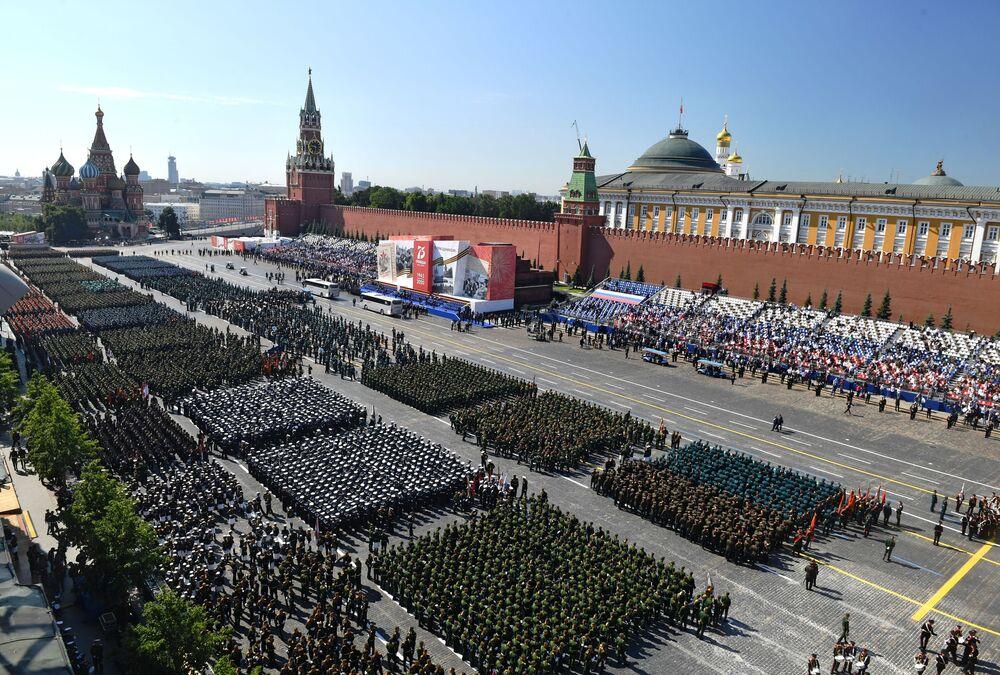 Rússia comemora 75 anos desde o fim da Grande Guerra pela Pátria contra a Alemanha Nazista