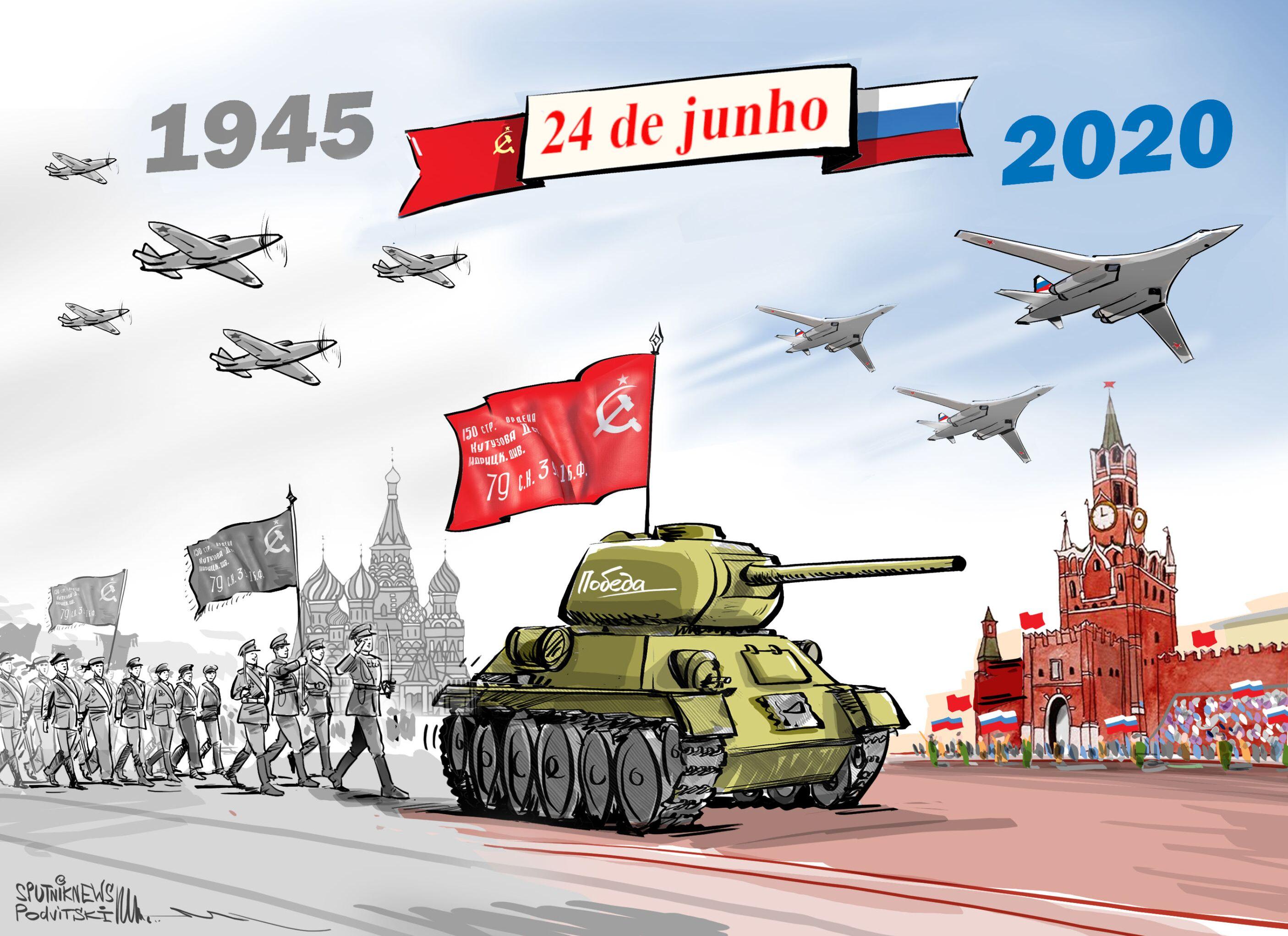 Celebremos com orgulho os 75 anos da Vitória!