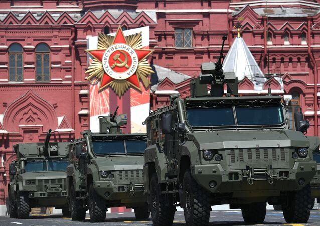 Veículo blindado Taifun-K na Parada dos 75 anos da Vitória em Moscou