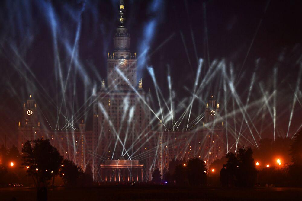Brilho da Vitória em Moscou