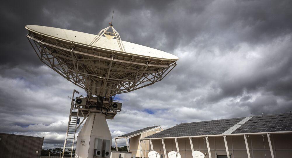 Radar do Centro de Operações Espaciais (COPE), em Brasília