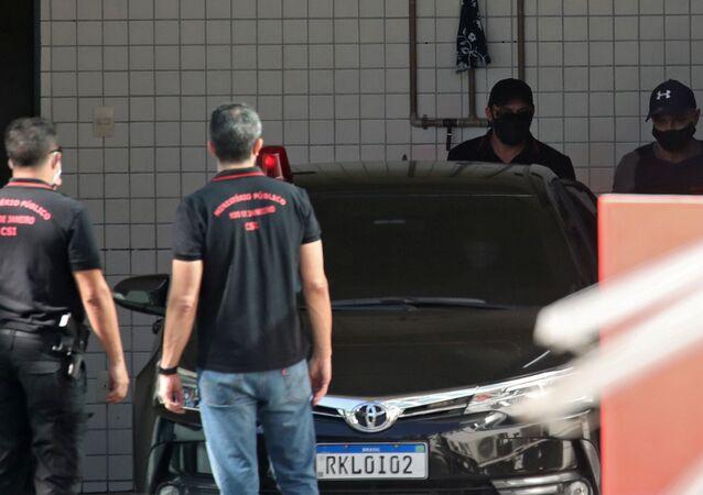 Fabrício Queiroz deixa IML após ser preso no dia 18 de junho em Atibaia