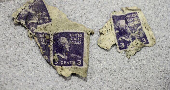 Pertences de vítimas que morreram no acidente aéreo com o avião C-124 Globemaster em 1952