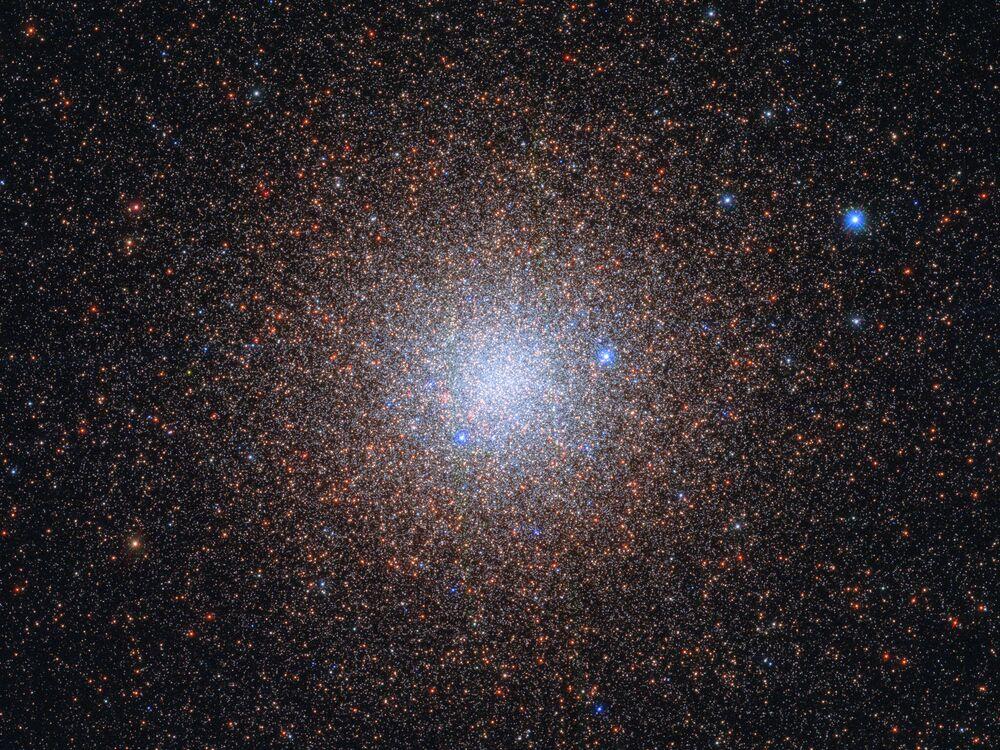 Aglomerado globular NGC 6441 na constelação de Escorpião