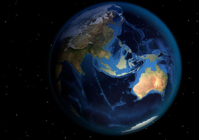 Imagem de globo mundial