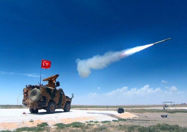 Sistema de defesa aérea Sungur da Turquia está pronto para operar pelas forças de segurança do país