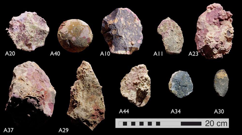 Artefatos subaquáticos de mais de sete mil anos encontrados em arquipélago, na costa australiana