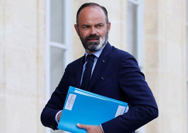 Primeiro-ministro francês Édouard Philippe