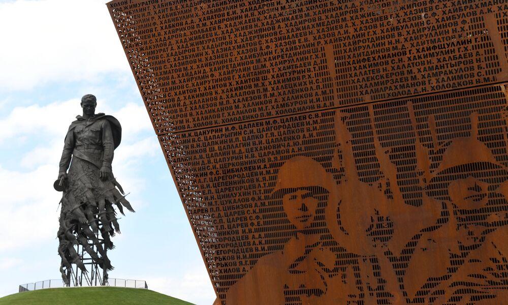 Monumento ao Soldado Soviético na região de Tver, Rússia