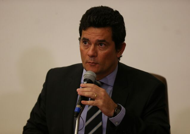 Ex-ministro da Justiça Sergio Moro
