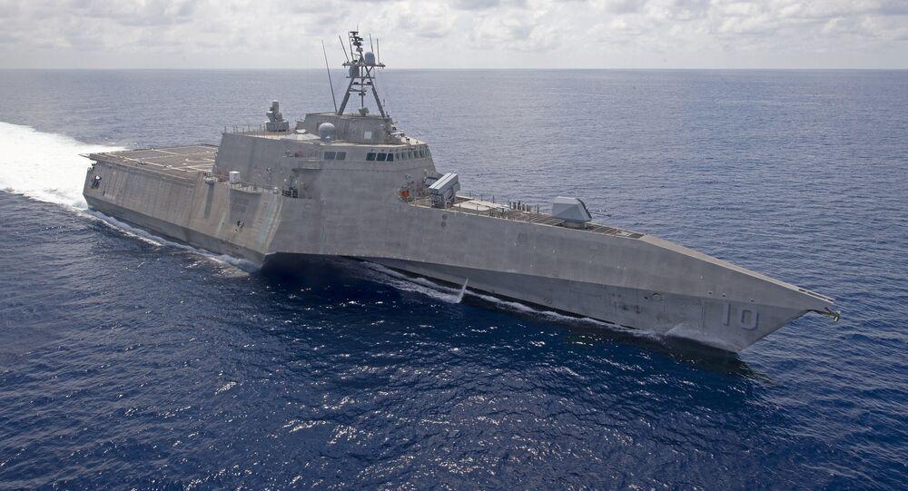 USS Gabrielle Giffords da Marinha dos EUA