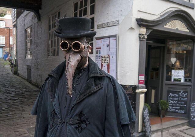 Médico de peste (imagem referencial)