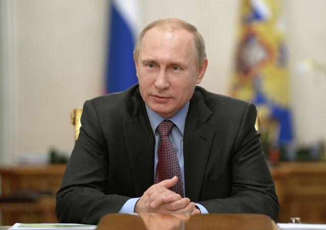 Vladimir Putin, presidente da Federação Russa