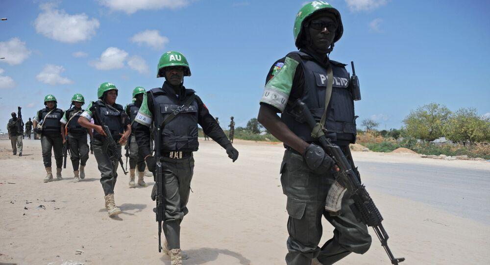 Soldados da Missão da União Africana na Somália