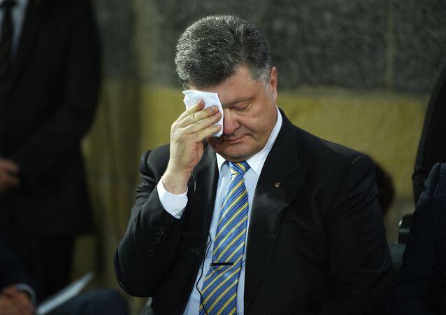Presidente ucraniano Pyotr Poroshenko, 14 de maio de 2014