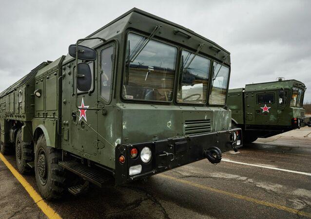 Sistemas de mísseis táticos Iskander M