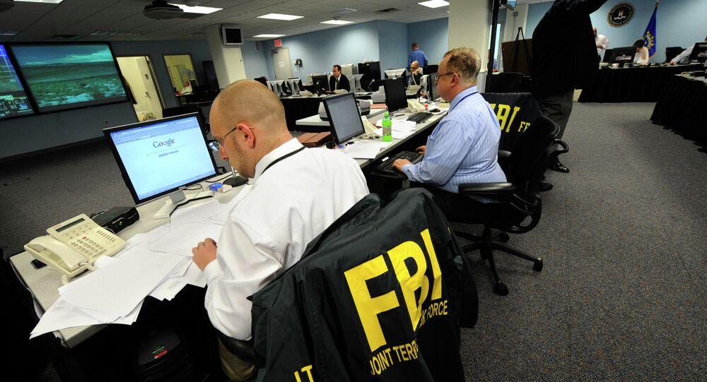 Agentes do FBI, Federal Bureau of Investigation, unidade de polícia do Departamento de Justiça dos Estados Unidos