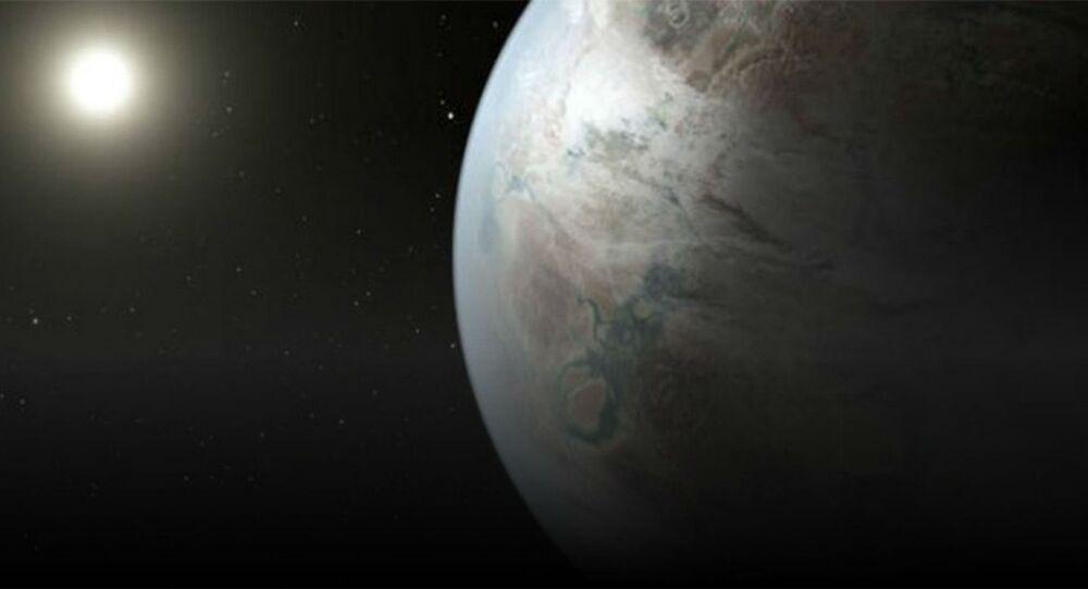 Exoplaneta Kepler 452B.