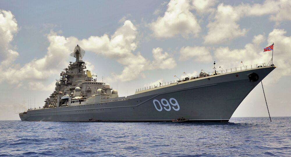Cruzador nuclear pesado Pyotr Veliky