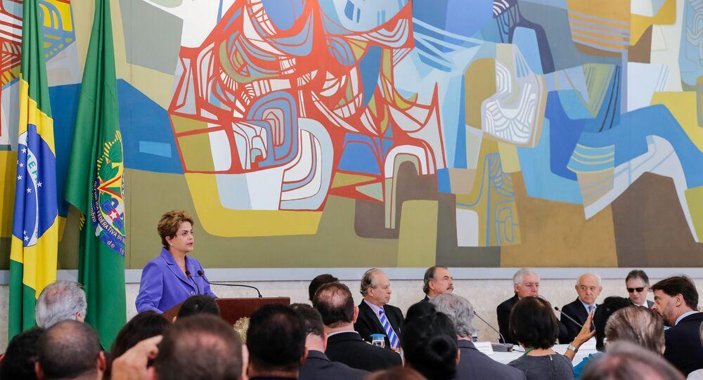 Presidenta Dilma Rousseff durante lançamento do Pronatec nesta terça-feira, 28 de julho
